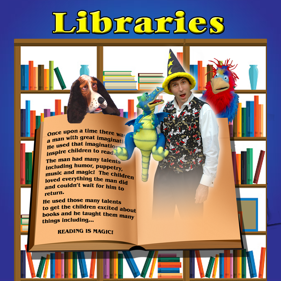 Charlotte Magician for Library Summer Reading